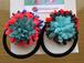 カラフル(ピンク/ブルー)【colorful】ヘアゴム2コset