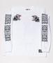 TRIPLE BLACK PANTHER Long T-Shirts White