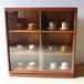 1960年〜1970年代 イギリス チーク ブックケース チェスト キャビネット 本棚 食器棚