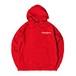 NICE S LOGO HOODIE M381504-RED / フード スウェット パーカー 赤 MARATHON JACKSON マラソン ジャクソン