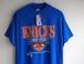 "1990's DEAD STOCK USA製 [SPECTATOR Sportswear] NBA ""NEW YORK KNICKS"" プリントTシャツ 表記(L) フラッシャー付"