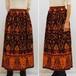 M~XLサイズ【アメリカ製古着】1960年代ハワイアンヴィンテージ◆サイケなペイズリープリント◆マキシ丈スカート