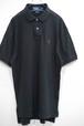 1990's Ralph Lauren コットンポロシャツ ブラック 表記(M) ラルフローレン