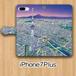 【受注生産】パノラマ「浅草・夜景」iPhone7Plus用 手帳型ケース