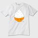 オレンジ担当、オレンジ色推し用?! 大盛りごはんくまさん かわいいTシャツ ※トナー熱転写
