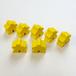 黄 木製 人型駒(約75個)