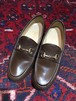 .GUCCI LEATHER HORSE BIT LOAFER MADE IN ITALY/グッチレザーホースビットローファー 2000000034904