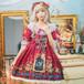 9874ロリータ衣装 ロリータ服 レディース 可愛い 少女風 Lolita ワンピース 半袖ワンピース レトロ 4色