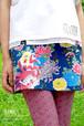 ベル菊ハイテンションミニスカート=青・紫=