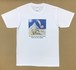 Jean-Pierre Anpontan アートプリントTシャツ「笑いこそ武器①」白Tシャツにオリジナルアート+ロゴ メンズ レディス キッズ