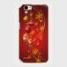 【AQUOSシリーズ】Winter Holiday Gorgeous Red ウィンター・ホリデー ゴージャスレッド ツヤありハード型スマホケース