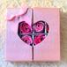 フラワーソープハートBOX(ピンク)