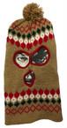 Pattern Knit Balaclava