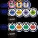 【予約商品】白井悠介、榎木淳弥の白井、榎木だけ!? 第3回 WINTER 缶バッジ ※ランダム販売