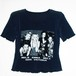 『SPICE GIRLS』 90s vintage power net Top