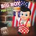 アメリカン雑貨 ビッグボーイ&バーガー 貯金箱 コインバンク BigBoy CoinBank フィギュア【新品】【D-003-119】