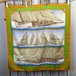 HERMES CARRES90 RAFALES LARGE SIZE SILK 100% SCARF MADE IN FRANCE/エルメスカレ90シルク100%大判スカーフ(疾風)