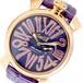 ガガミラノ GAGA MILANO SLIM スリム 46mm 腕時計 クオーツ メンズ レディース 5085.3 パープル パープル