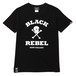 SKULL & BONES TEE (BLACK) / RUDE GALLERY BLACK REBEL