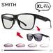 SMITH (スミス) 調光サングラス 大きめ サイズ Lowdown XL2 807 Black Photochromic Clear ( photo c ) 大きい XLサイズ 横幅 大きい サングラス メンズ 男性用 調光レンズ NXTレンズ