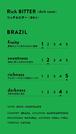 【豆150g】Brazil Santoantonio Natural 深煎り