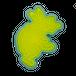鳥獣人物戯画 3 うさぎ 0459