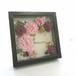frame arrange 15cm角(オークフレーム ダリアピンク B)