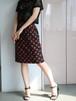 Yves Saint Laurent rive gauche rose skirt