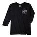 Tri Brend 3/4 Sleeve T-Shirt / MFP / Black