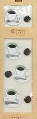 シール PCM モチーフ コーヒー柄(82405006)