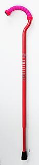杖『FLAMINGO(フラミンゴ)』 フラミンゴピンク  <注>グリップリングがピンク→白へ変更となっております。二枚目の写真を御覧ください。