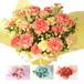 【色で選べる】スマイルバスケット季節の花使用