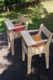 kid's dining chair (sunrise) オレンジ