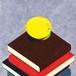 スクエア箋〜日本文学〜 「黄金の爆弾」(梶井基次郎『檸檬』より) 1種×6枚