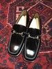 .GUCCI LEATHER HORSE BIT LOAFER MADE IN ITALY/グッチレザーホースビットローファー 2000000036762