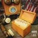 Globe Wernicke インデックスカード付き 木製 アンティーク カードボックス / レシピボックス アメリカンヴィンテージ 電話帳【F-063-012】