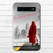 #002-011 おとぎ話系・ファンタジー系 モバイルバッテリー 《赤ずきんちゃん~ニューヨークへ行く~》 iphone スマホ 充電器 作:んご