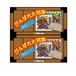 """Vol.1 """"Ganbare Daishogun"""" A & B (comp set) 72 pieces in total"""
