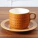 1970年〜1990年代 イギリス Hornsea Saffron カップ&ソーサー ホーンジー サフラン サフロン