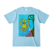 【グッズ】送料込「だべイカ」Tシャツ [色:ライトブルー]