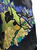 Diane freis black floral silk embroidery tops (  ダイアン フレイス シルク トップス )