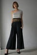 LOKITHO / cord embroided pants (BLKGLD)