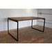 【TAS-13(SB)】テーブル用鉄脚 / ダイニングテーブルやワークテーブルの脚に