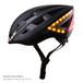 Kickstart キックスタート Lumos 自転車用 ヘルメット ウィンカーランプ ブレーキランプ iPhone Apple Watch 連携 54 - 61 cm