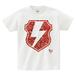 avenomix / THUNDER EMBLEM T-SHIRT WHITE PAISLEY RED