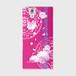 【ARROWS NX (F-02H)】Peony Dream 芍薬の夢 フューシャピンク ツヤありハード型スマホケース