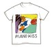 Sundayカミデ 「ピアノKISS!!!」Tシャツ(ホワイト)
