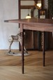 walnut table 'cavallo'