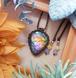 *Sunset Rainbow* Labradorite Macrame Necklace