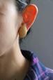 dead stock golden earrings